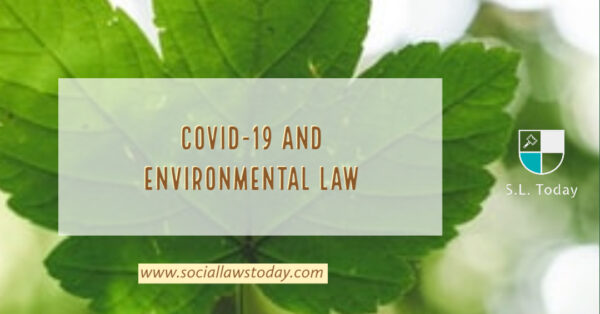 COVID-19 AND ENVIRONMENTAL LAW