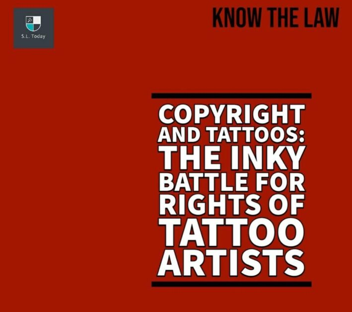 ARE TATTOOS COPYRIGHTED