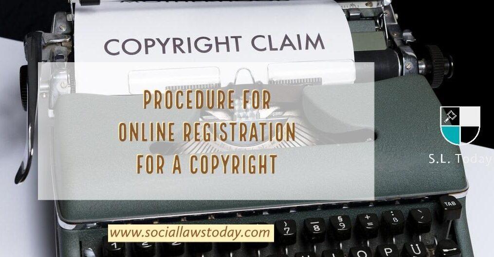Online Registration for Copyright