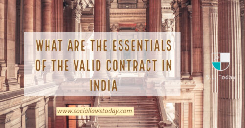 Essentials of the valid contract